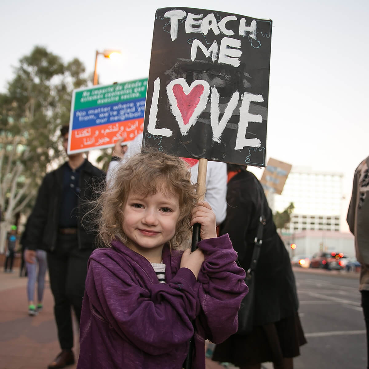 Tucson No Ban Protest