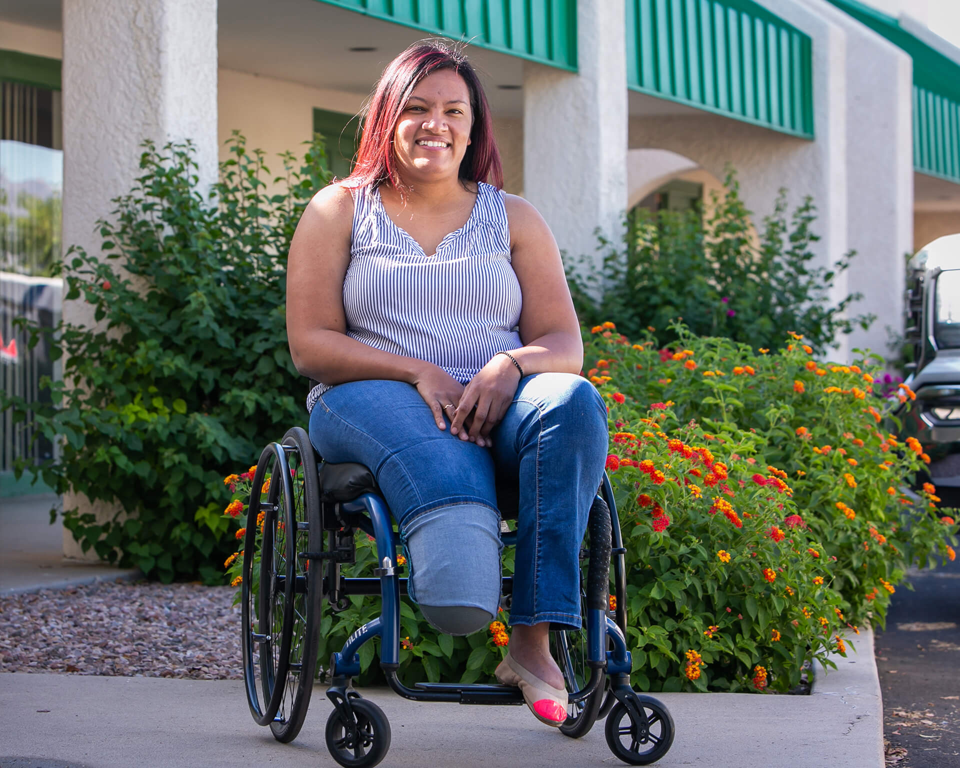 """As a woman of color and also as a woman living with a disability, I am often placed in the position of trying to explain racial privilege and also able-bodied privilege to others. I no longer want to be the only person to hold space for these topics."" – Alanna"