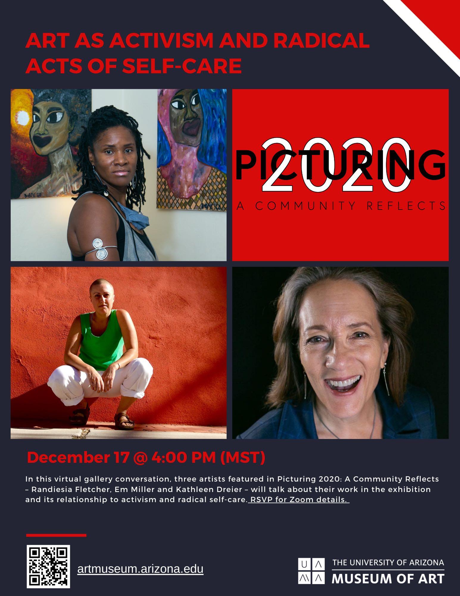 Kathleen will be on art panel, 12/17/2020