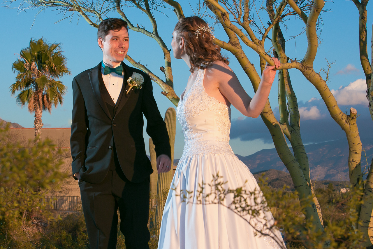 Working with the setting sun and off camera flash, Kathleen created this image that has a Gone With The Wind feel.
