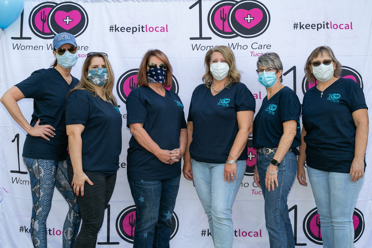 Members of 100+ Women Who Care Tucson