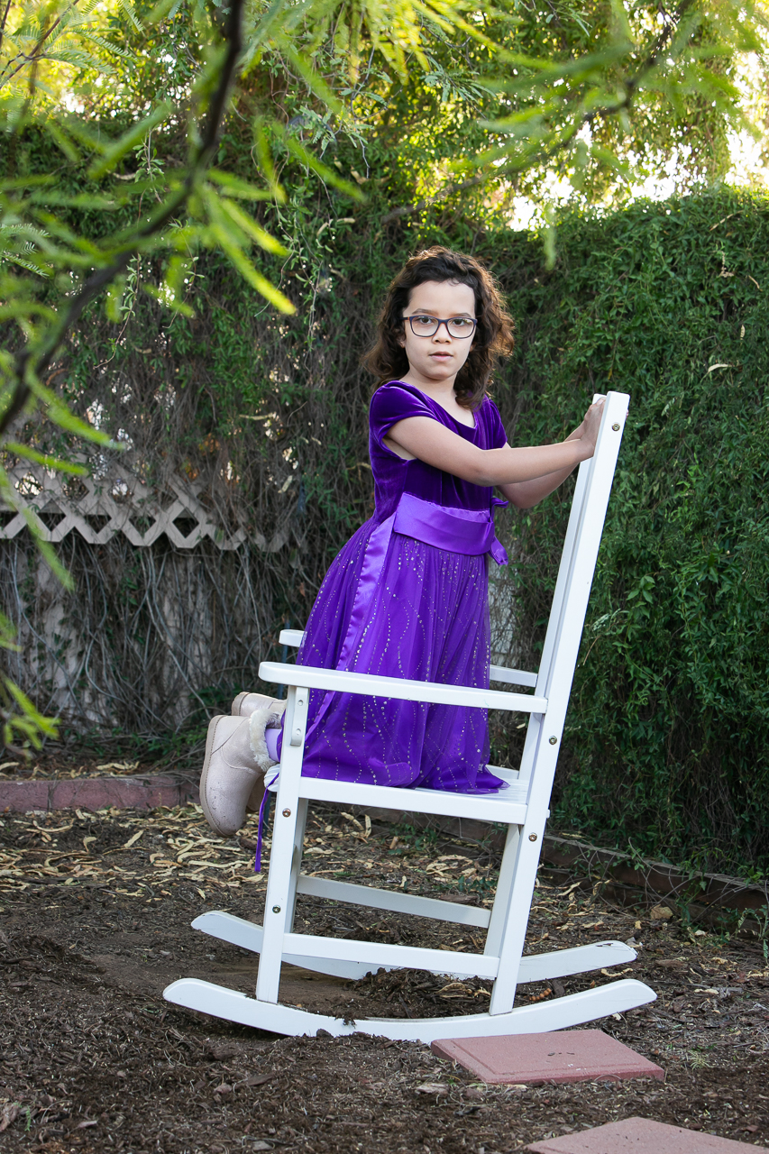 Kathleen loves following the child or family's lead in portraiture because beautiful moments like this occur.